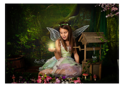 themed fairy photoshoots in Clitheroe by Sarah Mclean