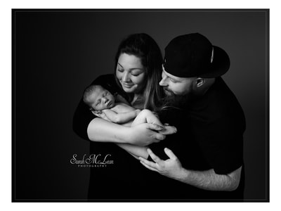 family portrait in Preston, Lancashire by Sarah Mclean Photography